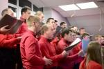 Воскресное вечернее богослужение, хор из п. Красное (07.01.2018)