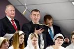 """Участие хора из столичной церкви """"Благодать"""" (25.02.2018)"""