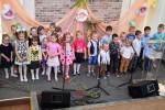 Участие детей из воскресной школы (13.05.2018)
